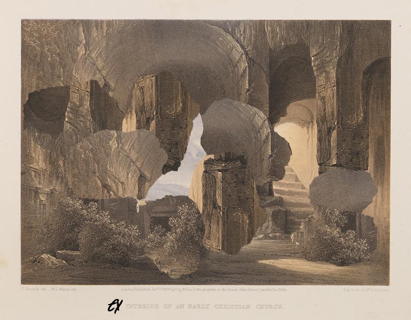 Interior of an Early Christian Church